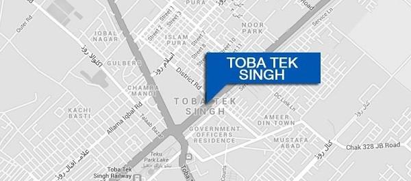 Toba Tek Singh - rally against land grabbers