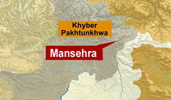 A Map of Mansehra District
