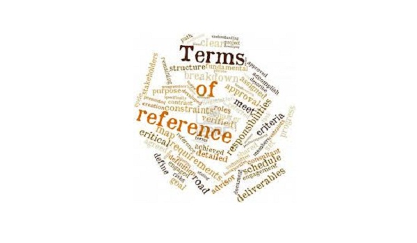 Terms of reference by LDA