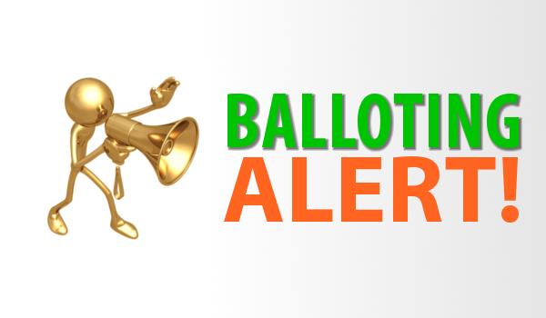 Balloting Alert