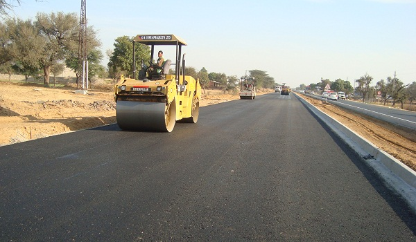 Construction of road
