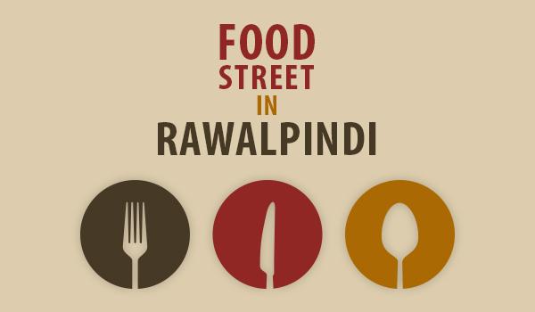 food street in Rawalpindi