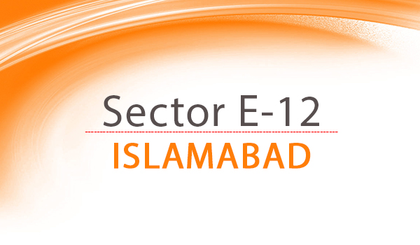 sector e-12 Islamabad
