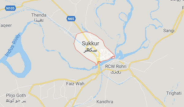 The Map of Sukkur