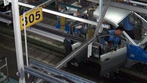 Hyundai automobile assembly line