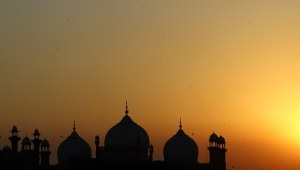 The horizon beyond Lahore Fort