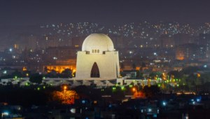 Still of tomb of Quaid (Karachi)