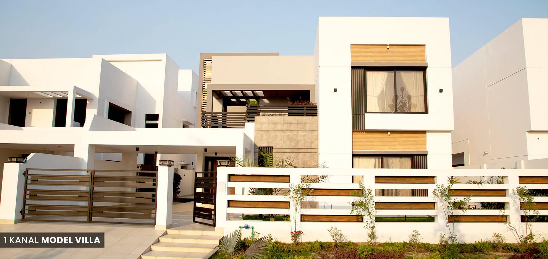 1 Kanal Model Villa